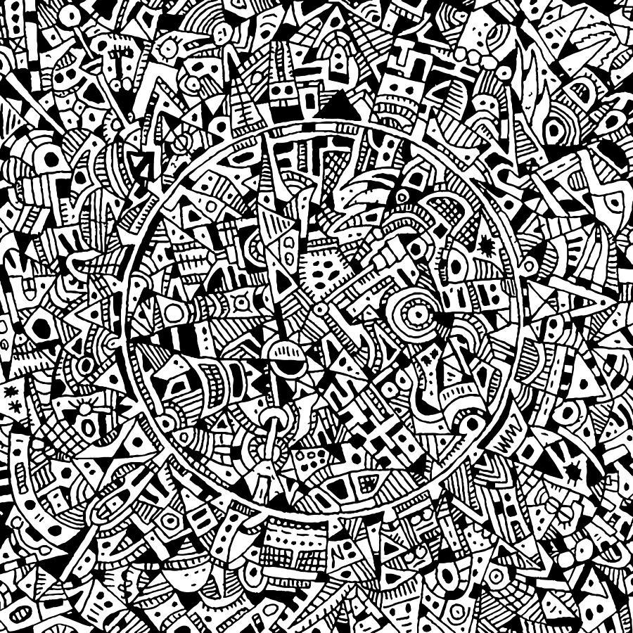 Inner Circle Drawing