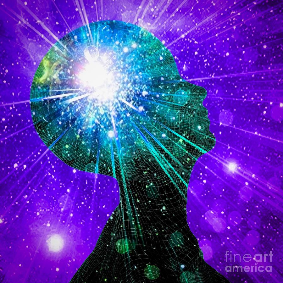 Inner Light Or Vivid Imagination Digital Art