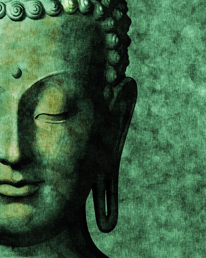 Inner Peace 03 - Buddha Mixed Media