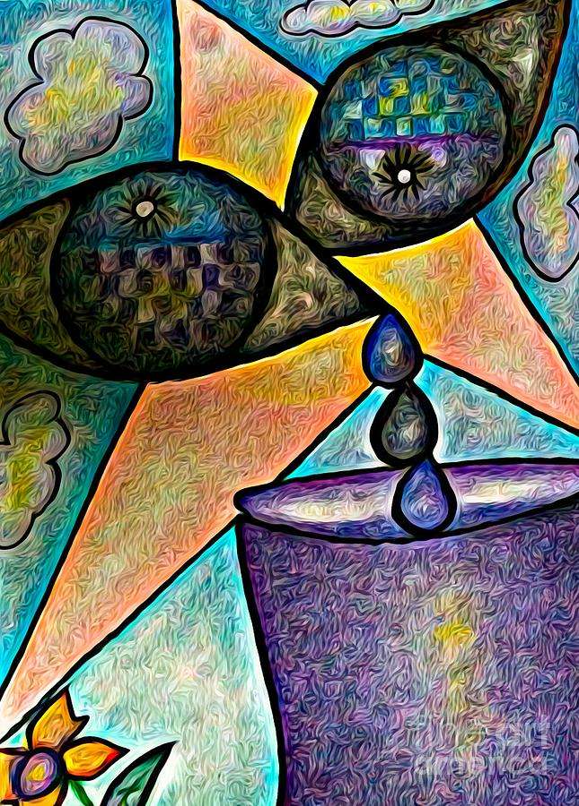 Inner Turmoil Mixed Media - Inner Turmoil by Lauries Intuitive