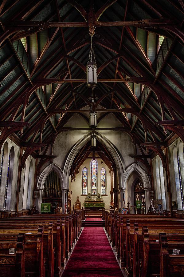 Inside St. Peter's Episcopal Church, Fernandina Beach, Florida by Dawna Moore Photography