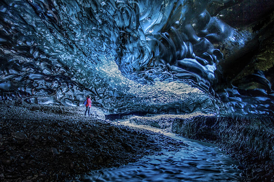 Inside The Deepest Ice Cave Photograph By Peter Svoboda