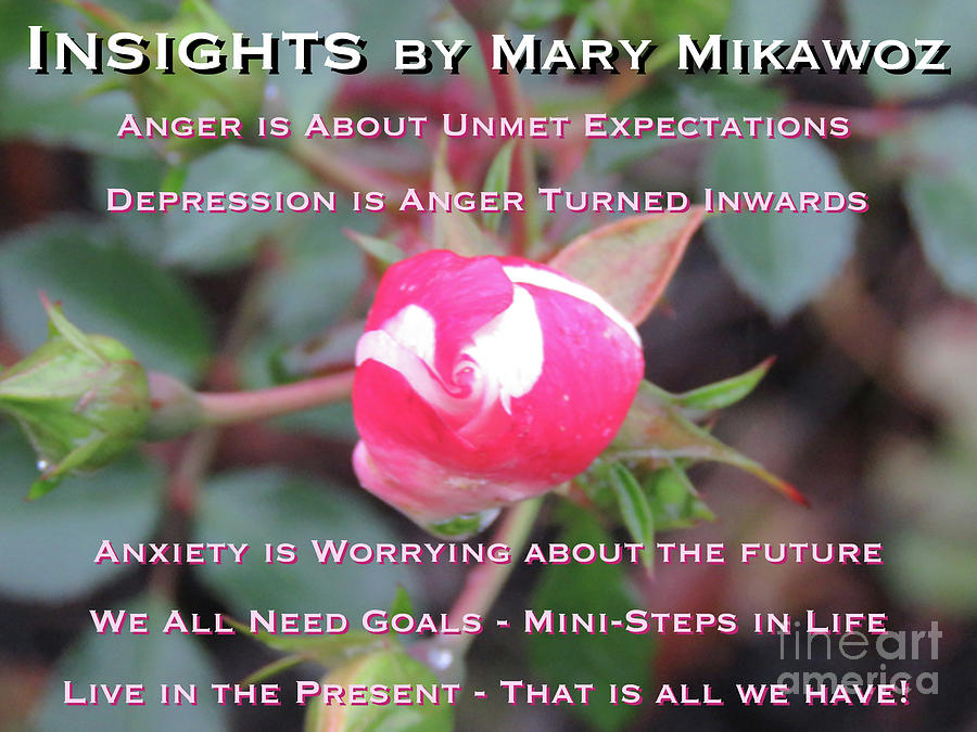 Years Photograph - Insights by Mary Mikawoz
