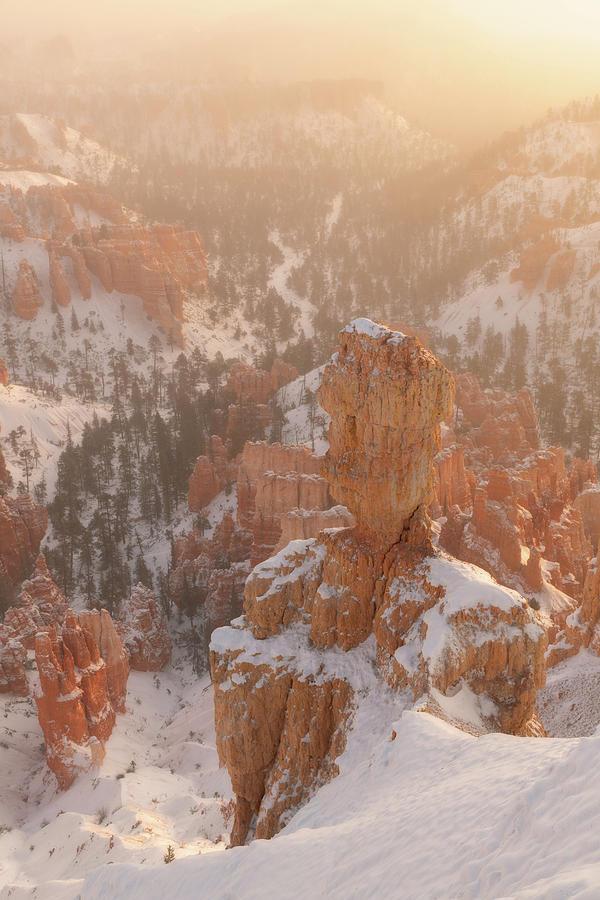 Inspiration Point Sunrise by Dustin LeFevre