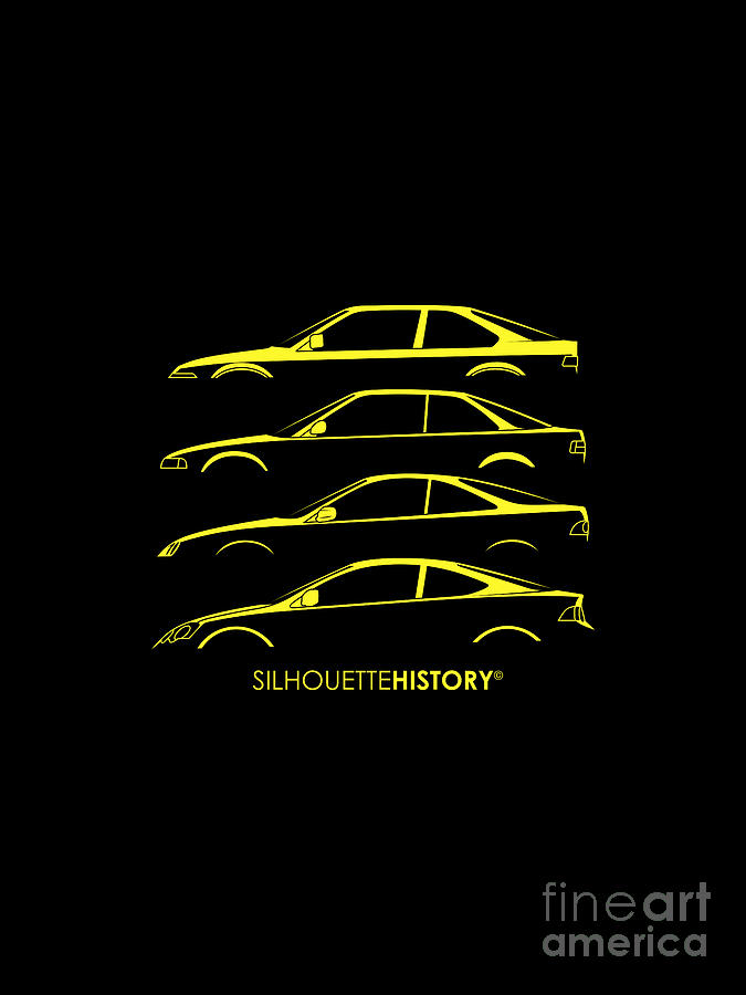 Integer Coupe SilhouetteHistory by Gabor Vida