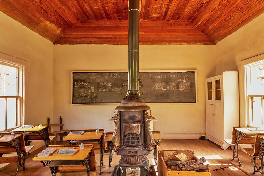 Interior Fruita Schoolhouse by Jurgen Lorenzen