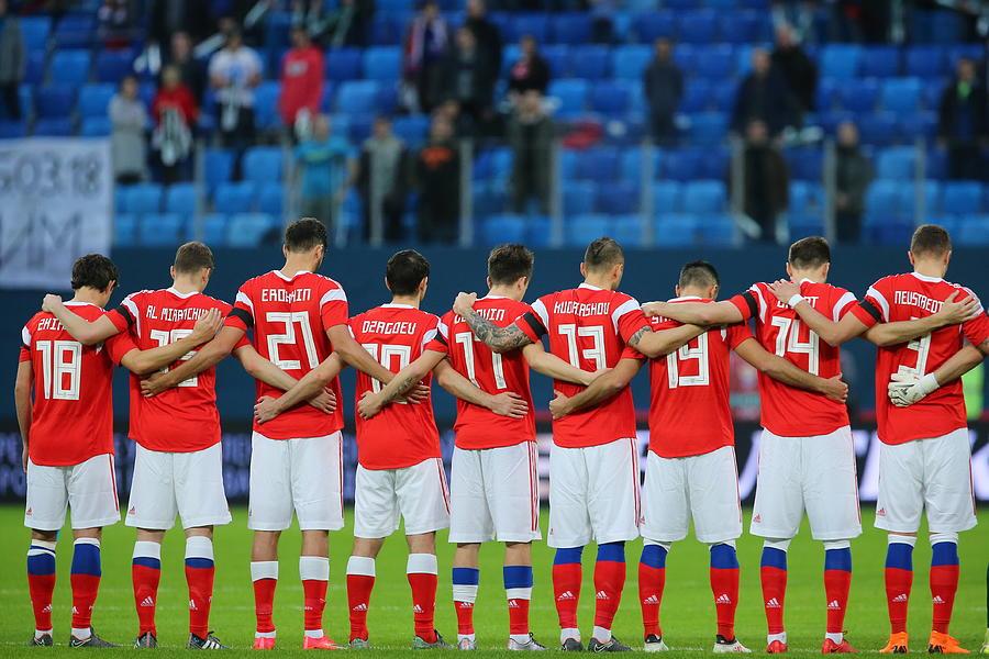 International friendlies: Russia vs France Photograph by Peter Kovalev