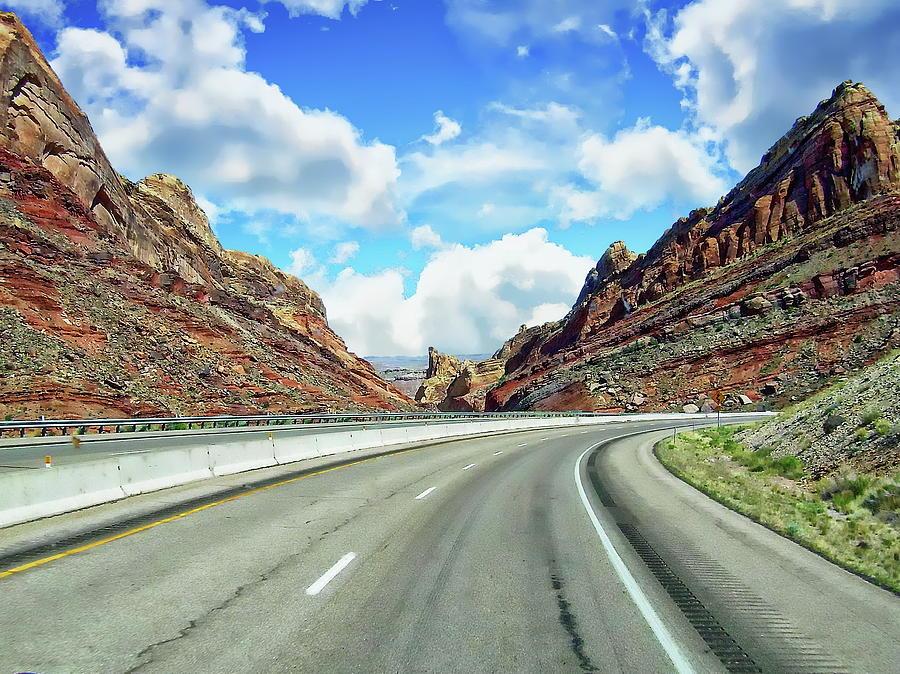 Interstate 70 Scenic Photograph