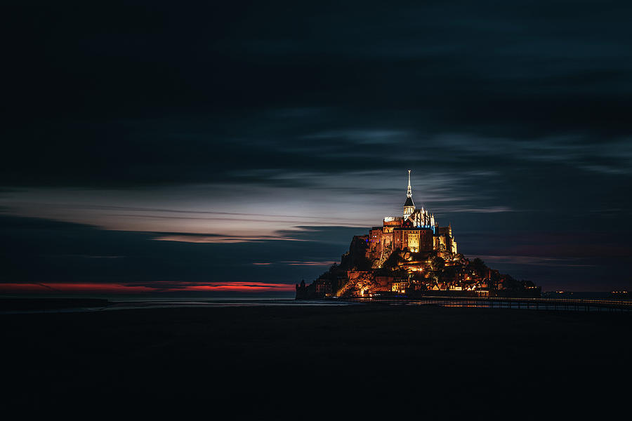Landscape Photograph - Into the Night by Andrei Dima