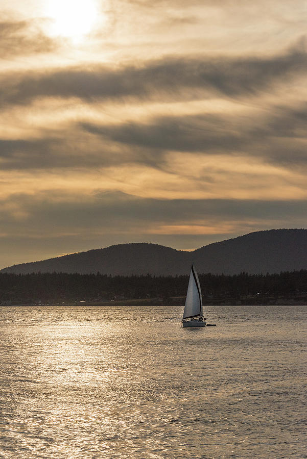 Anacortes Photograph - Into The Sunset by Kristopher Schoenleber