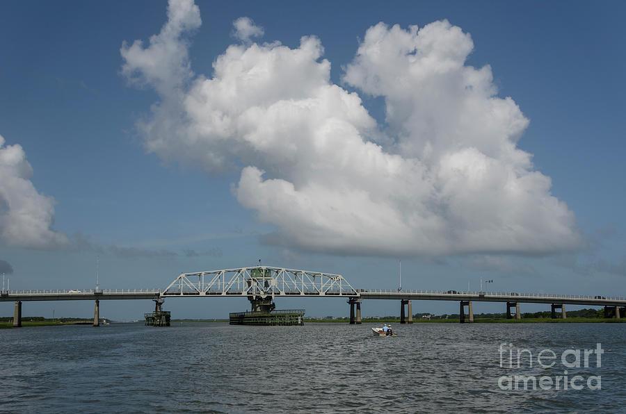 Intracoastal Waterway - Ben Sawyer Swing Bridge Photograph