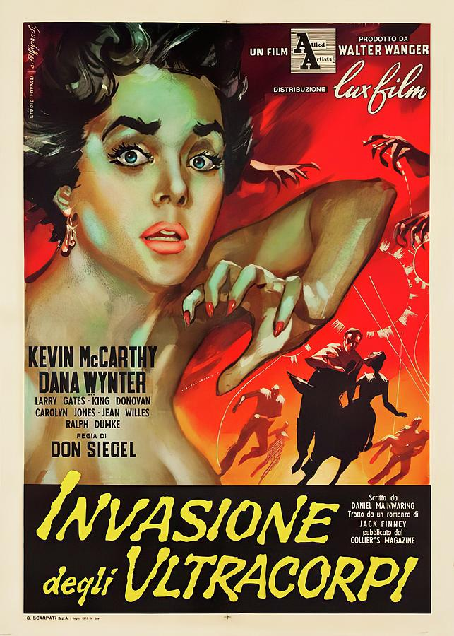 invasion Of The Body Snatchers, 1956 Mixed Media