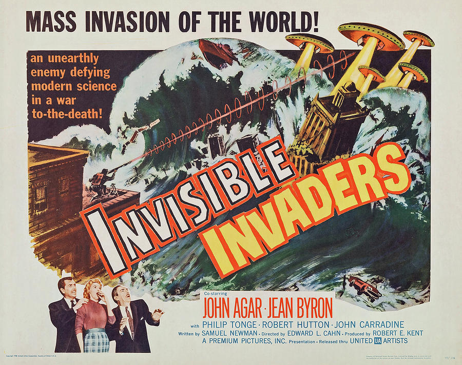 invisible Invaders - 1959 Mixed Media