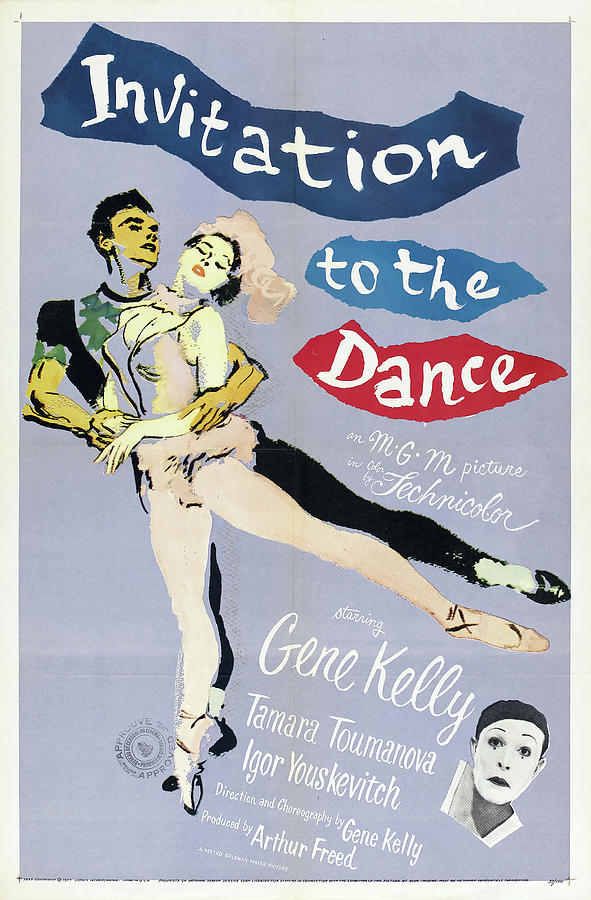 invitation To The Dance, With Gene Kelly, 1956 Mixed Media