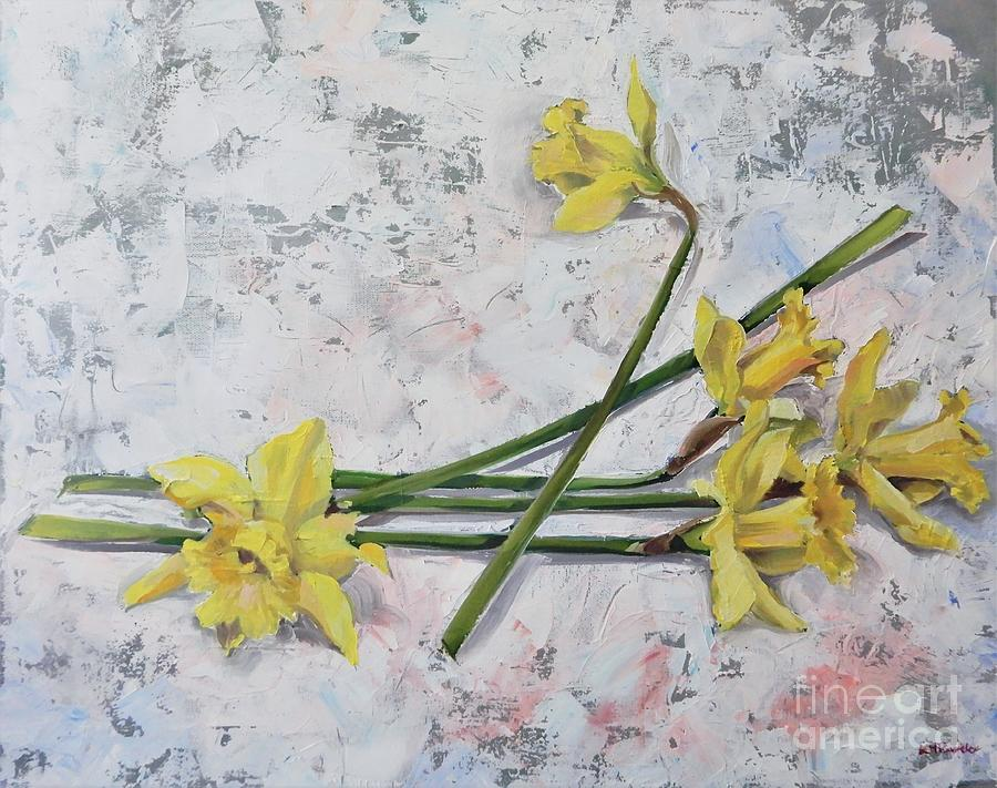 Inviting Spring In Painting