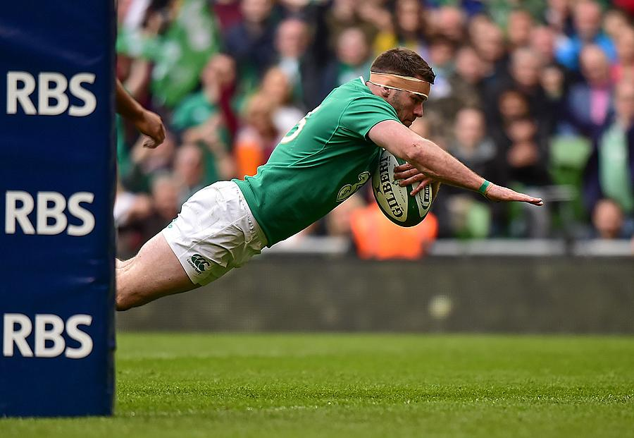 Ireland v Italy - RBS Six Nations Rugby Championship Photograph by Sportsfile