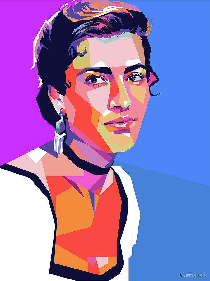 Irene Papas Digital Art