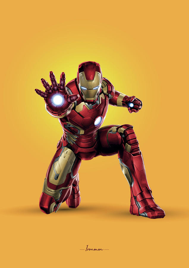 Ironman - Marvel Photograph