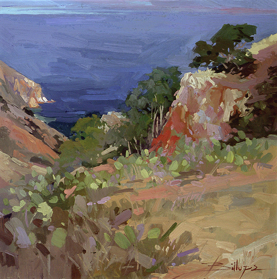 Betty Billups Painting - Ironwoods at Goat Harbor by Betty Jean Billups