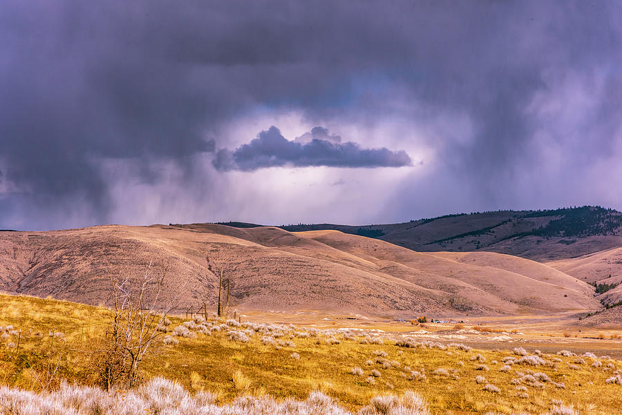 Montana Photograph - Is That Cloud Holy? by Bryan Spellman