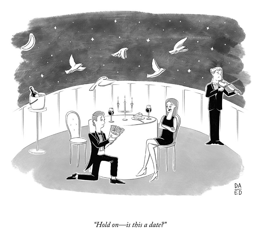 Is This A Date? Drawing by Eli Dreyfus and Dan Abromowitz