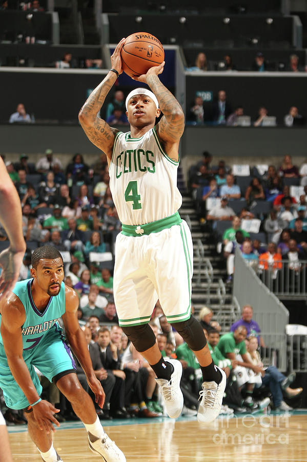 Isaiah Thomas Photograph by Kent Smith
