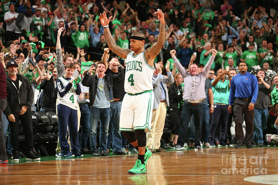 Isaiah Thomas Photograph by Ned Dishman