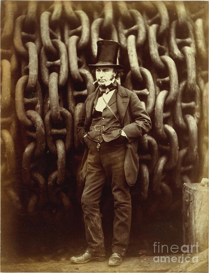 Isambard Photograph - Isambard Kingdom Brunel by Esoterica Art Agency
