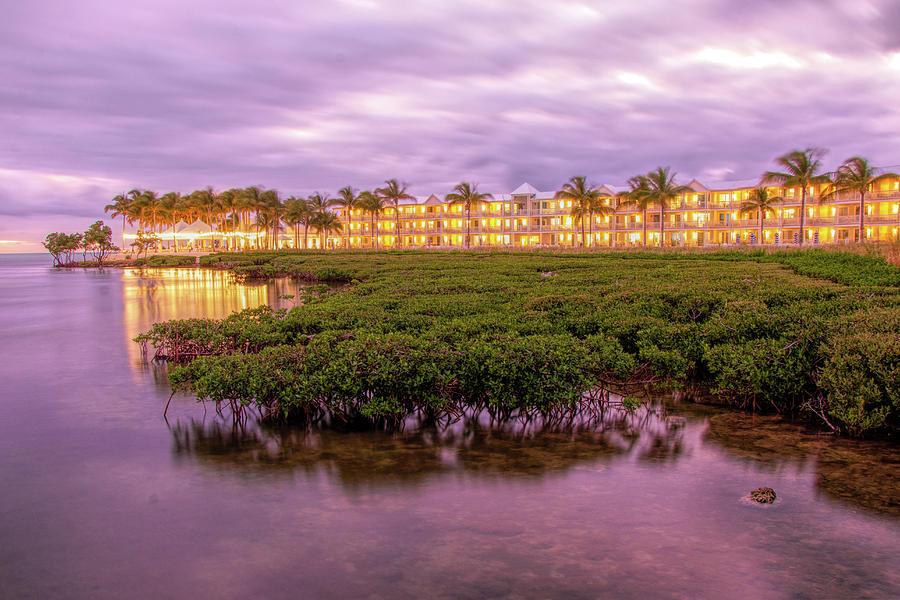 Isla Bella Beach Resort At Sunset by Kristia Adams