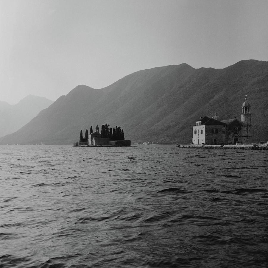Island Church in Montenegro Photograph by Marella Agnelli