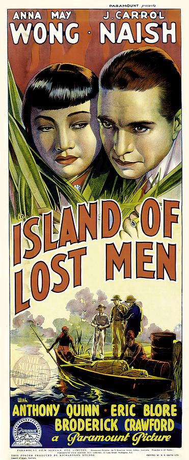 island Of Lost Men, 1939-b Mixed Media