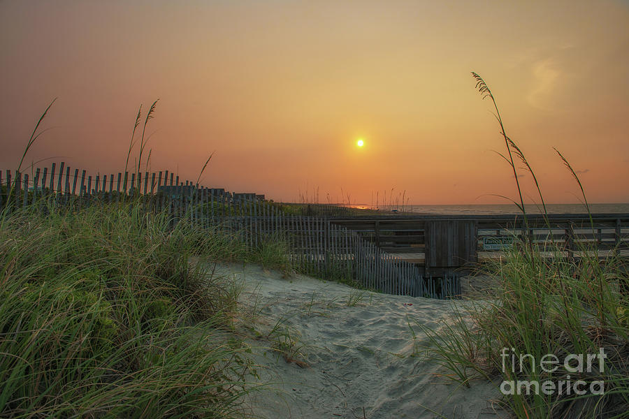 Isle Of Palms Sunrise - Sand Between My Toes Photograph