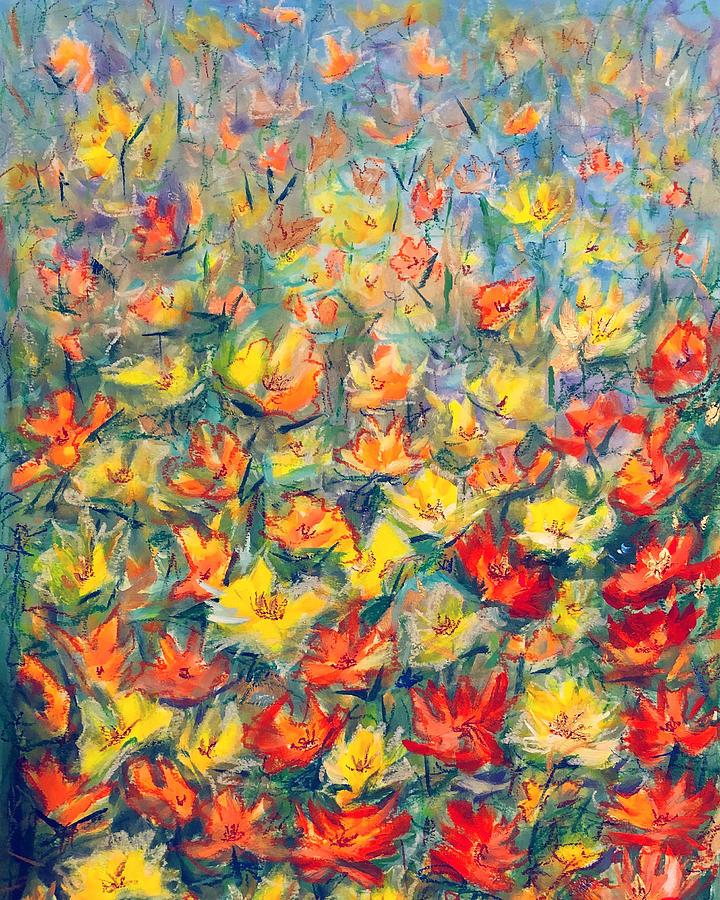 Mixed Media Painting - Isn T It Lovely  by Marina Wirtz