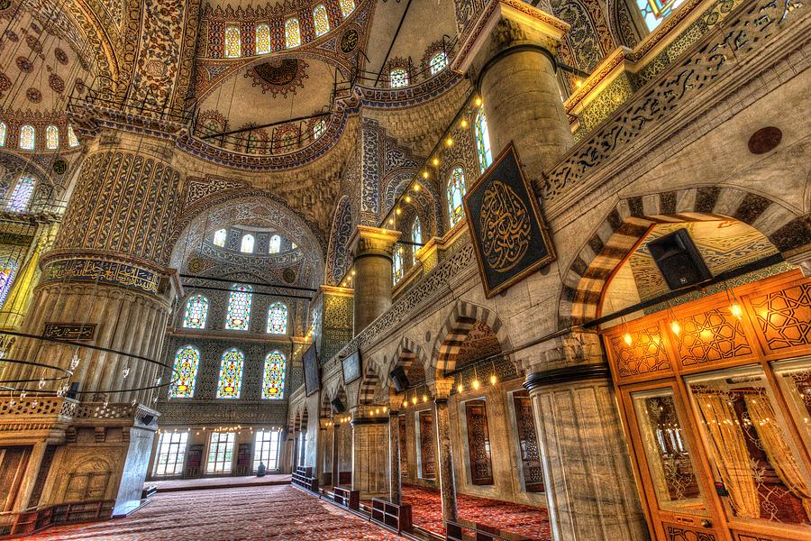 Istanbul Blue Mosque Photograph