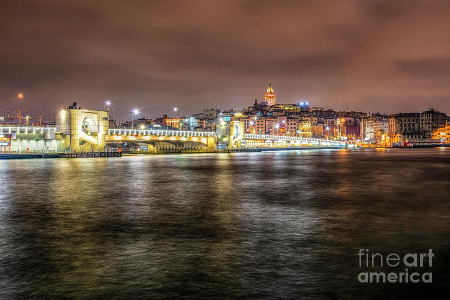 Istanbul Galata by Mirza Cosic
