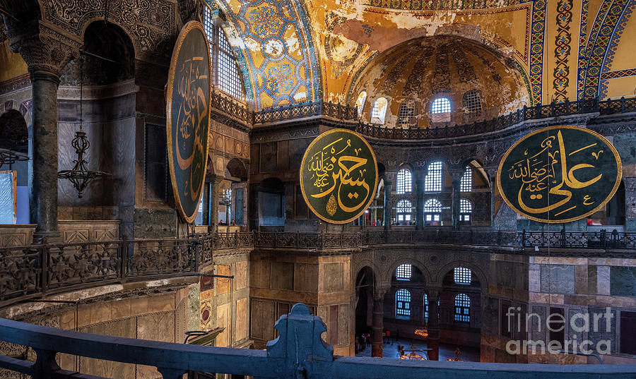 Istanbul Hagia Sophia Around the Foyer by Mike Reid
