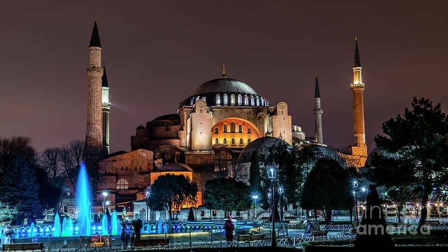 Istanbul Hagia Sophia by Mirza Cosic