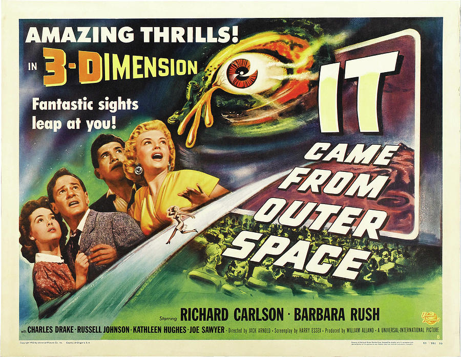 it Came From Outer Space - 1953 Mixed Media