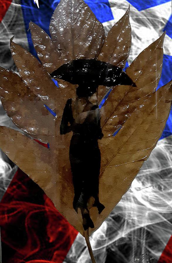 Rain Digital Art - It is Rainin by Carlos Laster