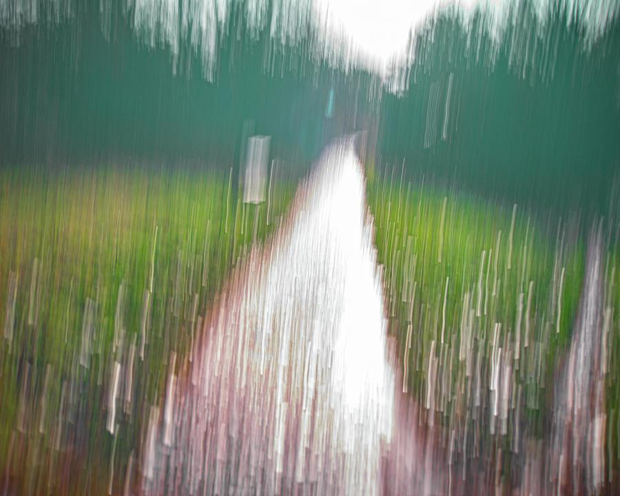 Rain Photograph - It Never Stops Raining by A J Paul