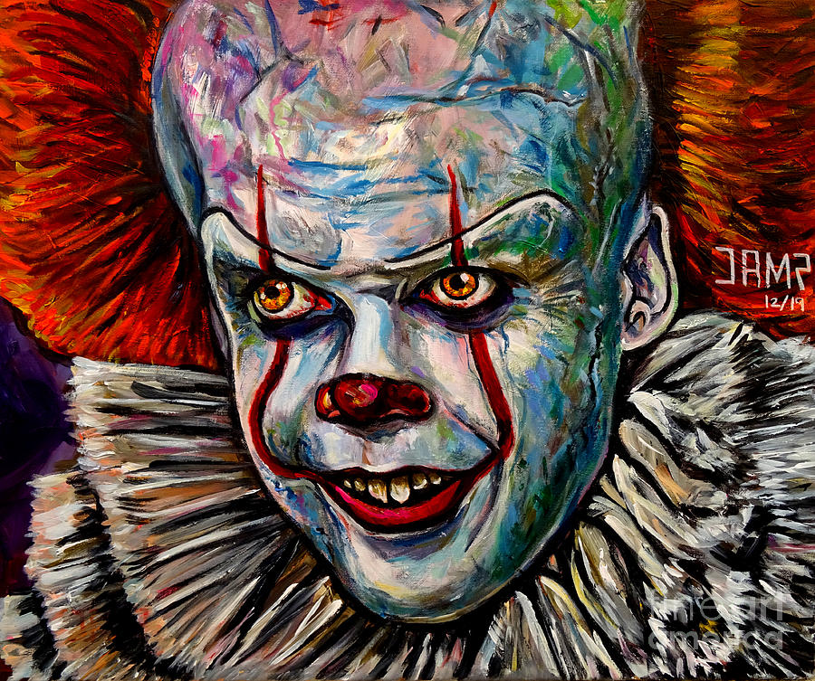 It Painting - It Pennywise by Jose Mendez
