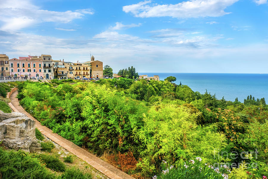 italian seaside city of Vasto - Abruzzo region in Italy by Luca Lorenzelli