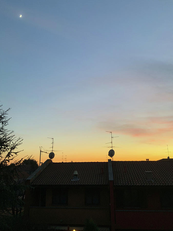 Italian Suburbs Sunset by Andrea