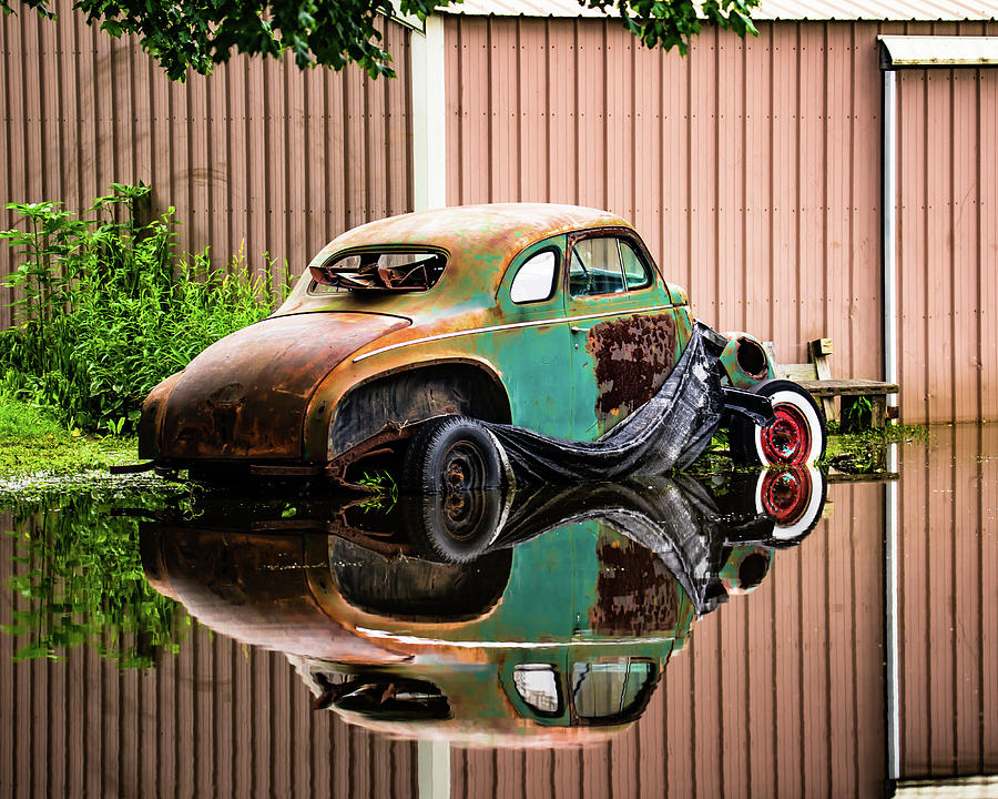 Landscape Photograph - Larger Reflections by Scott Smith