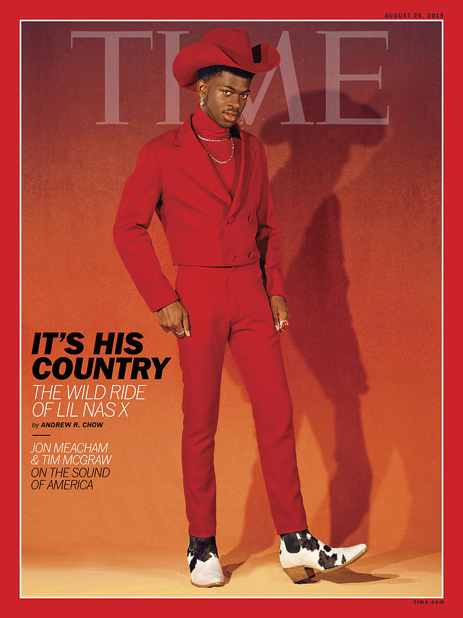 Music Photograph - Its His Country - Lil Nas X by Photograph by Kelia Anne for TIME