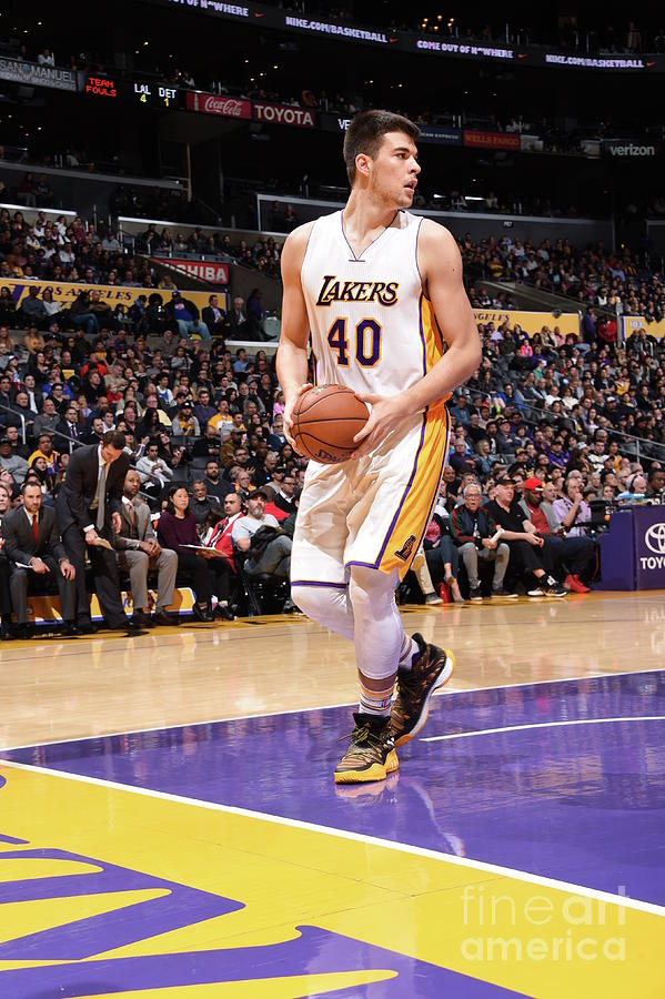 Ivica Zubac Photograph by Andrew D. Bernstein