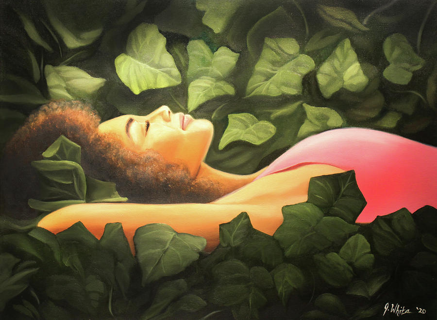 Ivy Dreams Painting