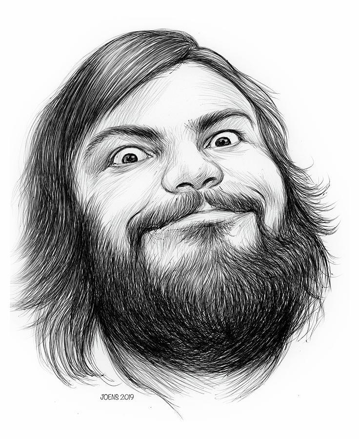 Jack Black Drawing