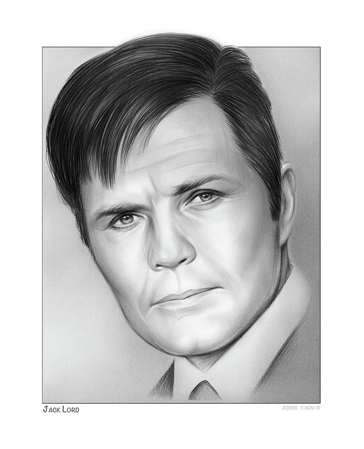 Jack Lord by Greg Joens