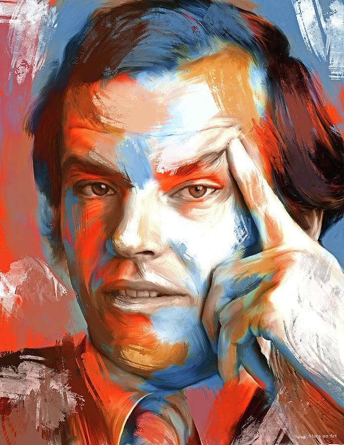 Jack Nicholson 3 Painting